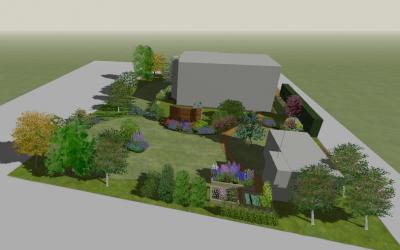 Projekt ogrodu – Wołowice